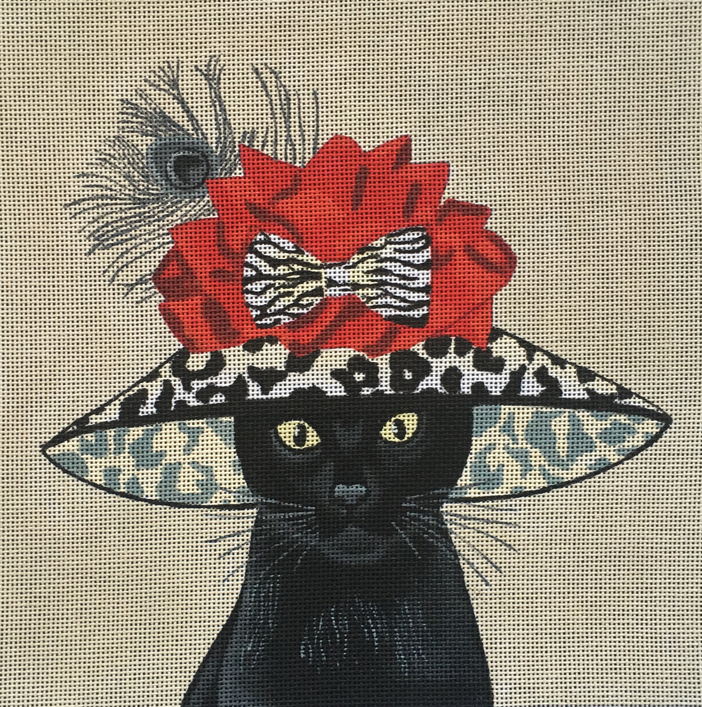 FF-011 Black Cat with Big Hat