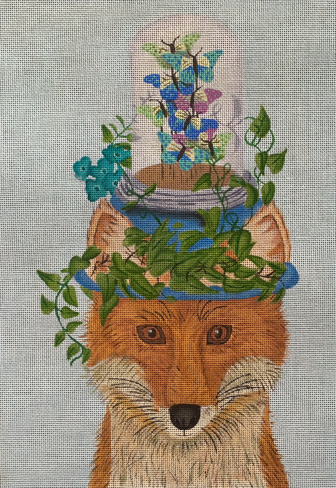 FF-014 Fox with Butterfly Jar