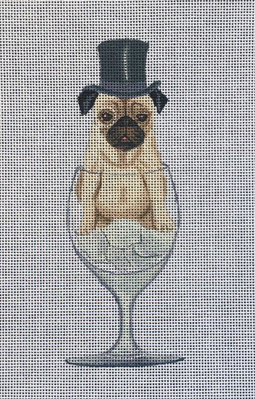 FF-03 Pug in Glass