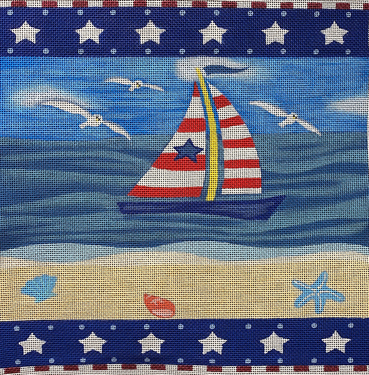 LL-01 Patriotic Sailboat