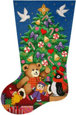 7116 Toyland Stocking