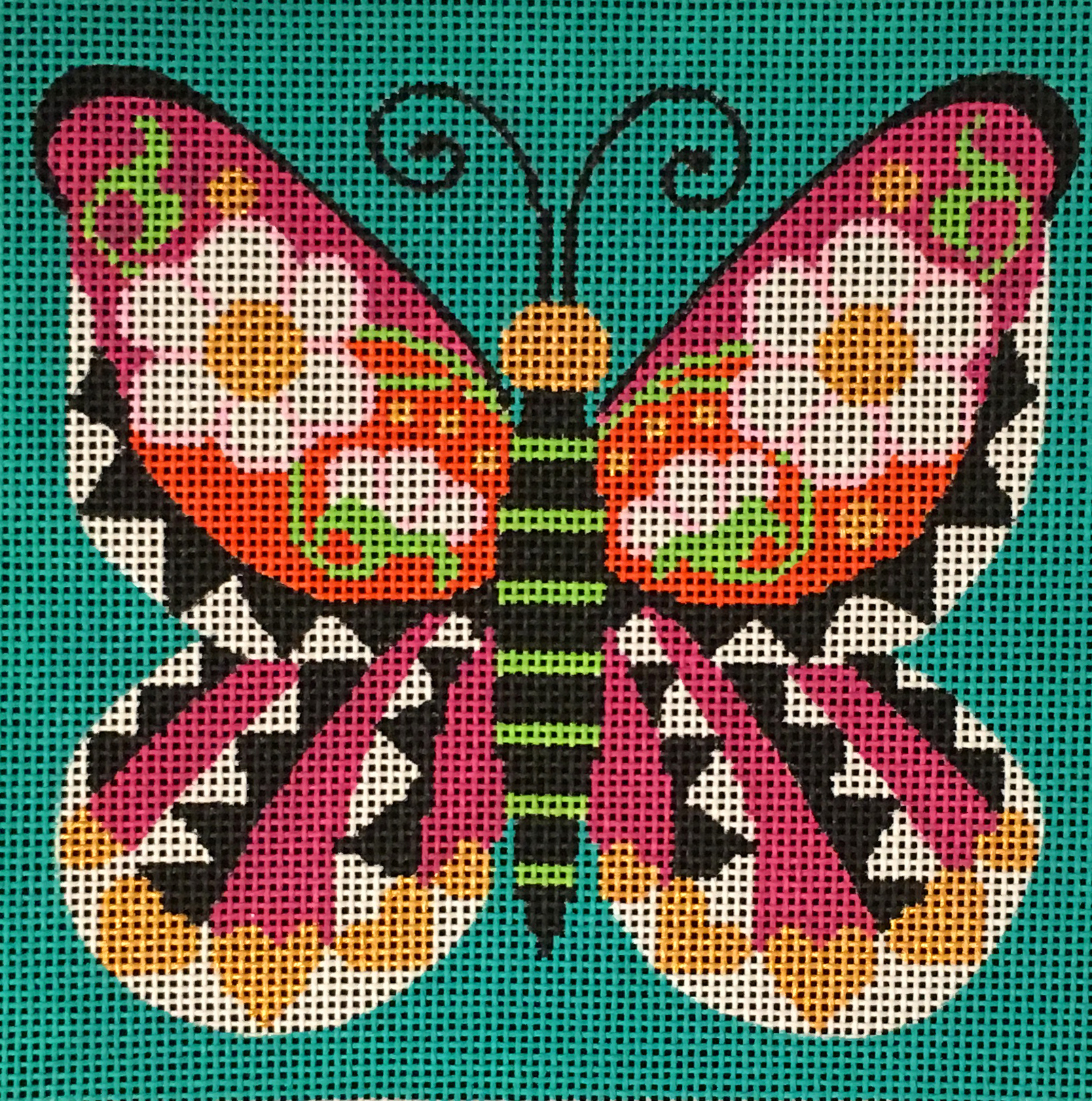 AL-023 Graphic Butterfly